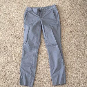 J crew stretch Frankie gray pants size 00